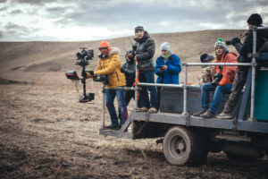 production company and studio COLIBRI FILMS filming in Kazakhstan